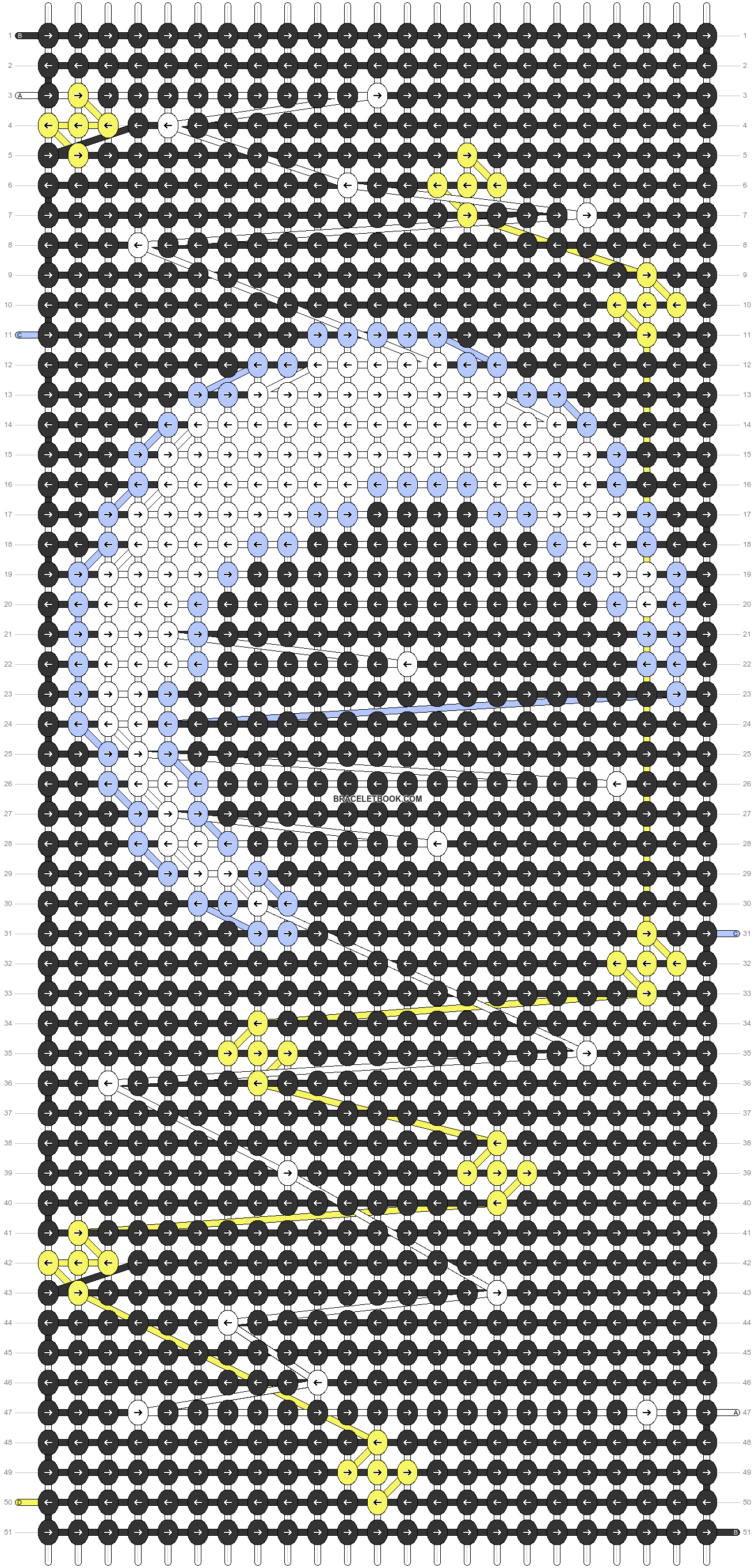 Alpha pattern #61694 pattern