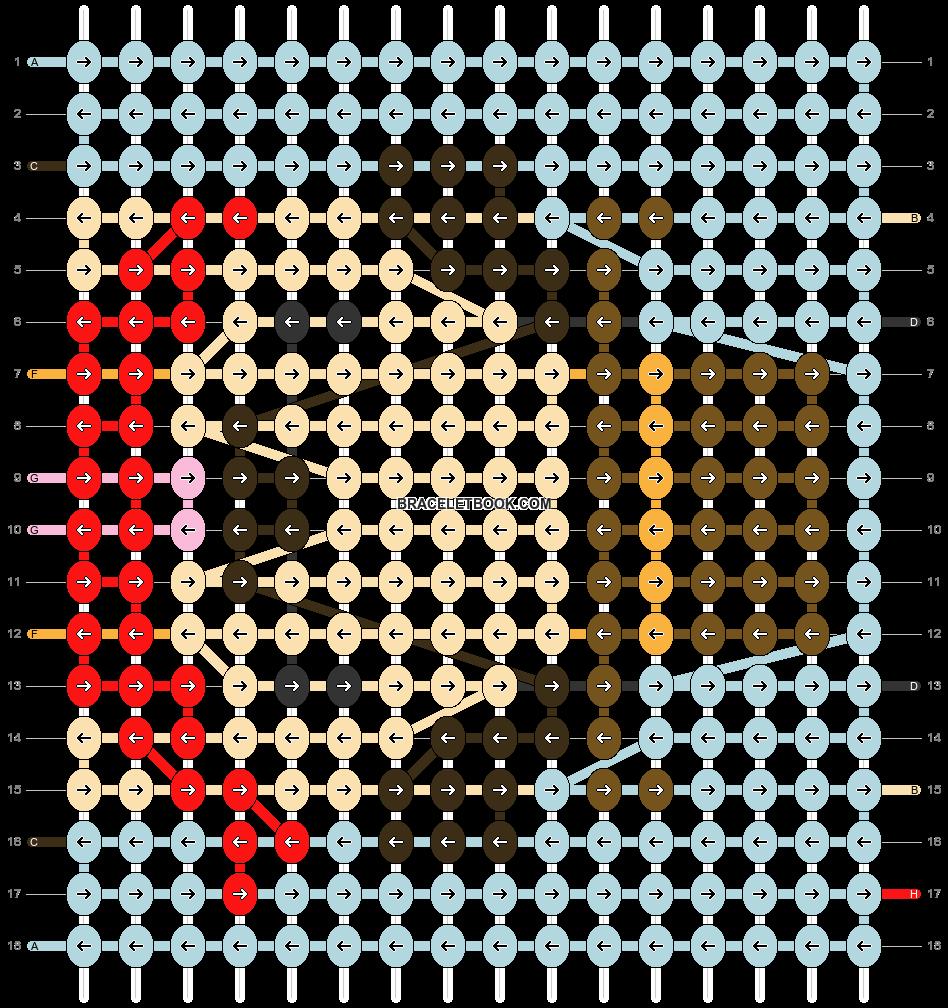 Alpha pattern #61712 pattern