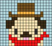 Alpha pattern #61712