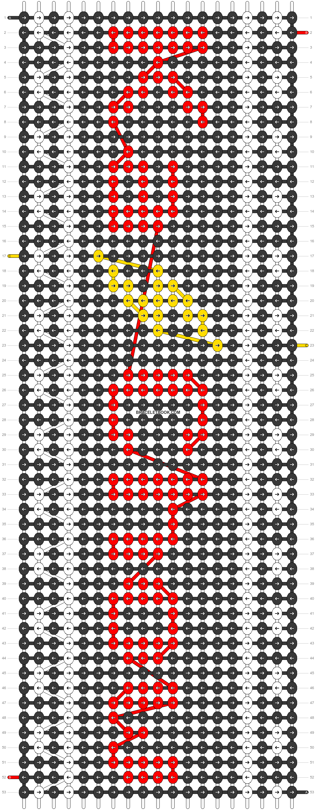 Alpha pattern #61737 pattern