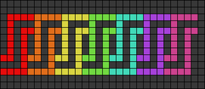 Alpha pattern #61742