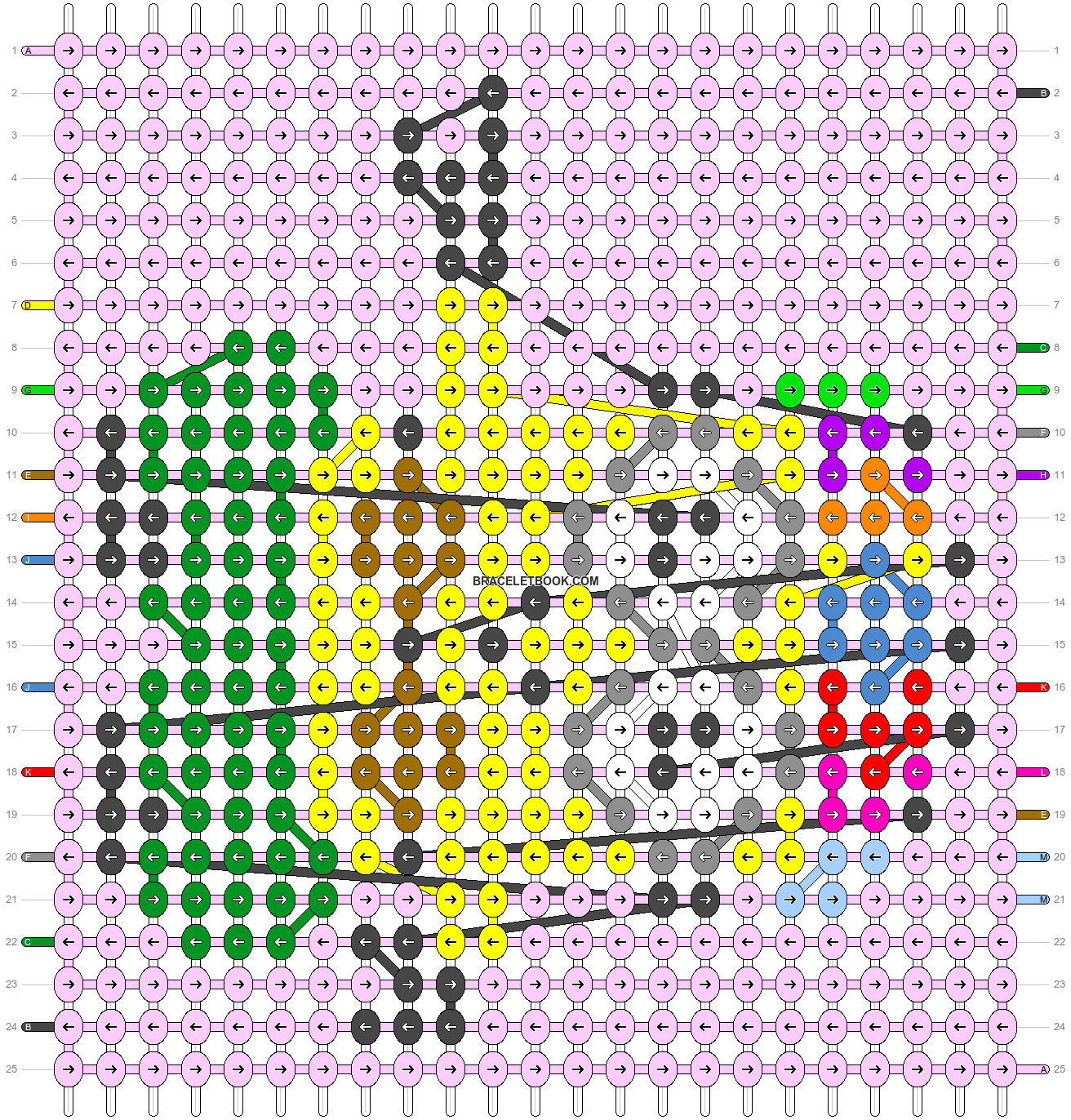 Alpha pattern #61785 pattern