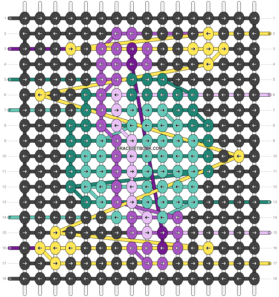 Alpha pattern #61817 pattern