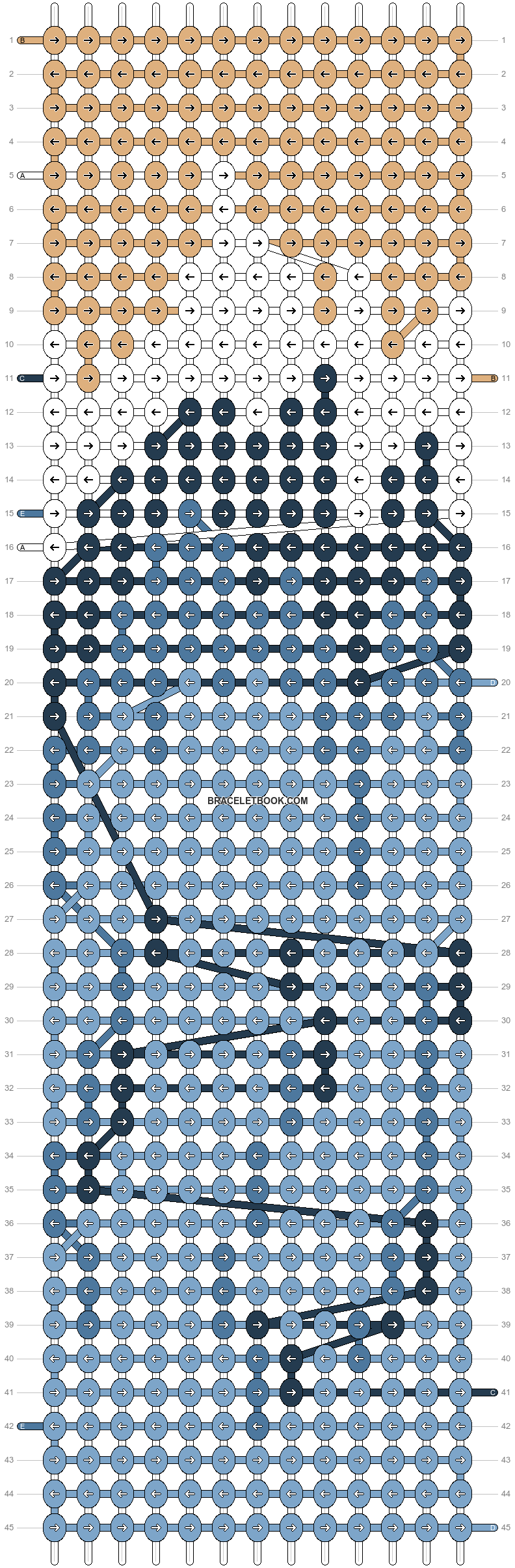 Alpha pattern #61853 pattern