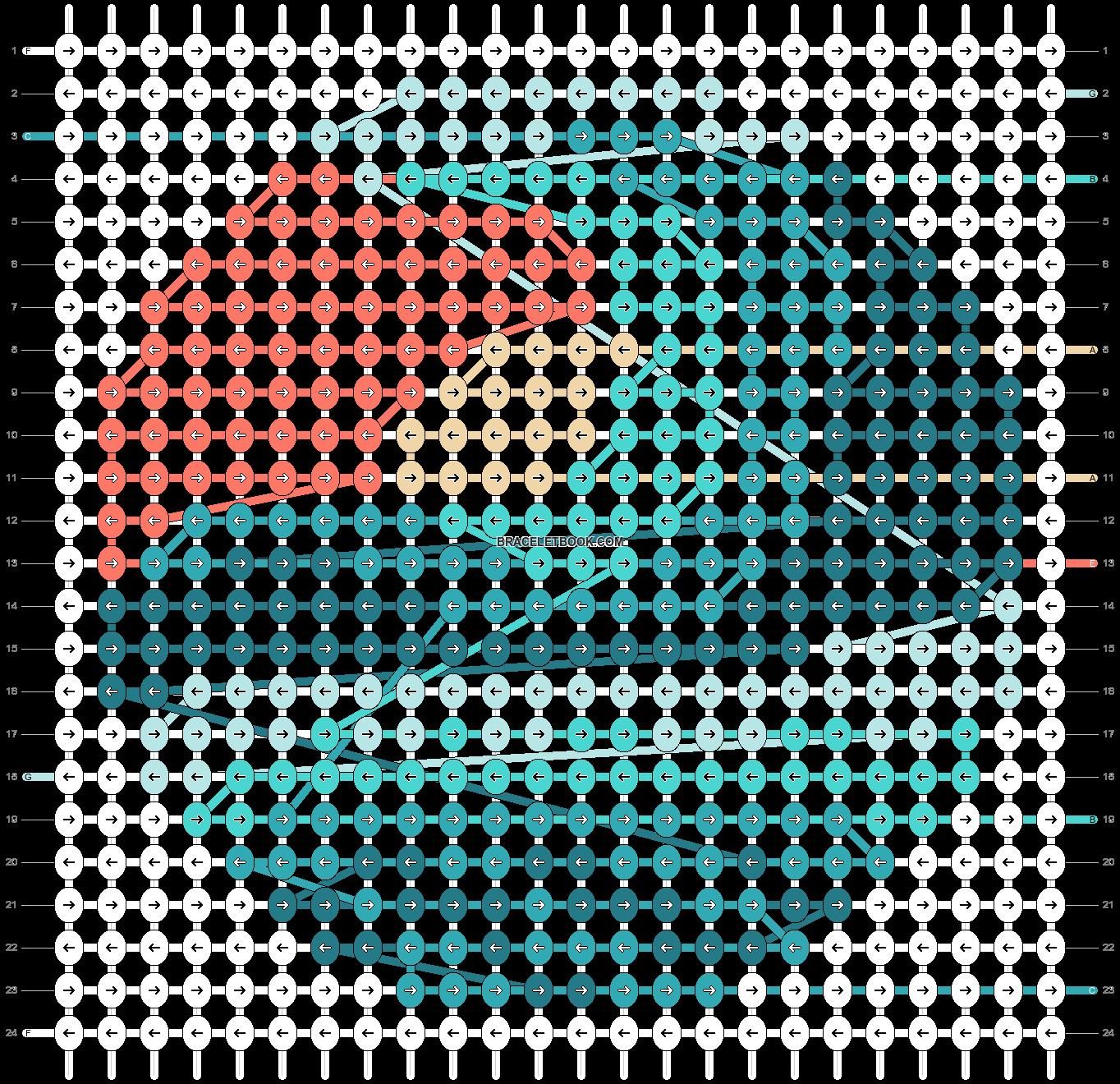 Alpha pattern #61866 pattern