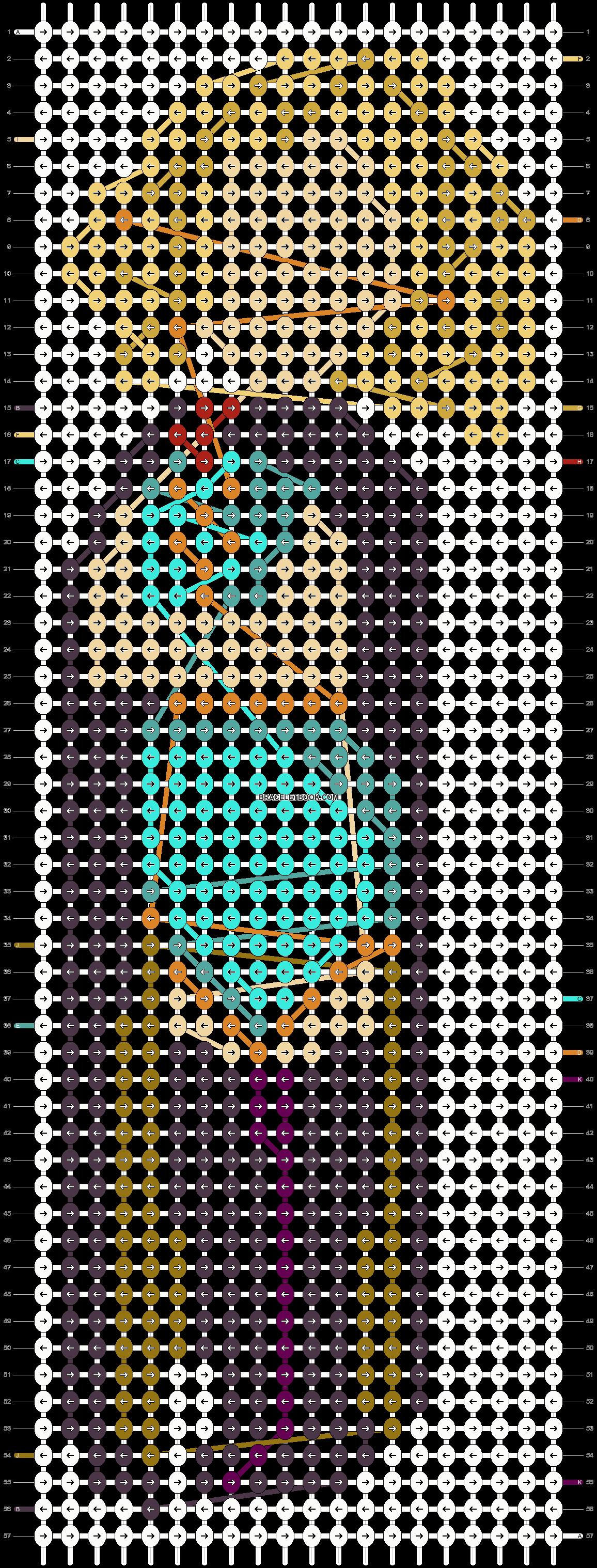 Alpha pattern #61867 pattern