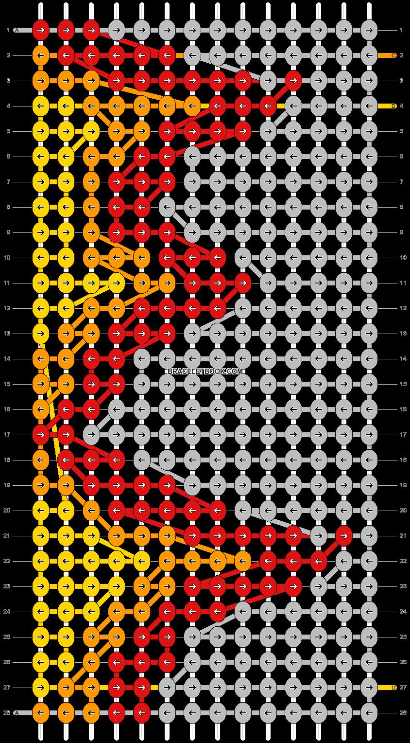 Alpha pattern #61874 pattern