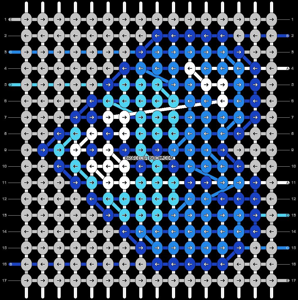 Alpha pattern #61900 pattern