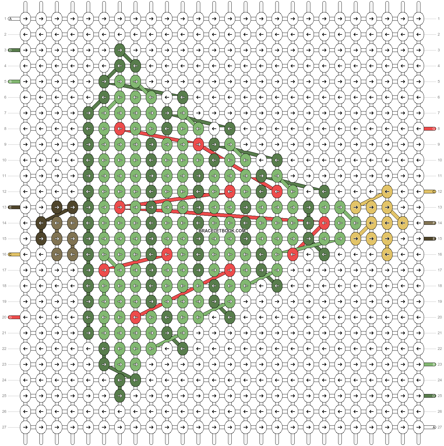 Alpha pattern #61911 pattern