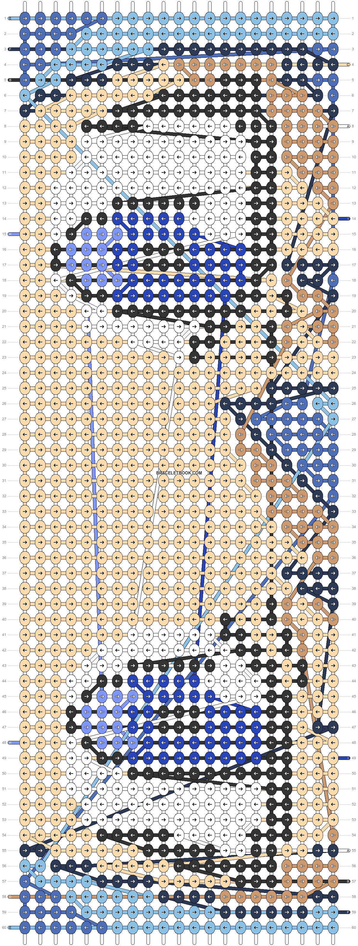 Alpha pattern #61941 pattern