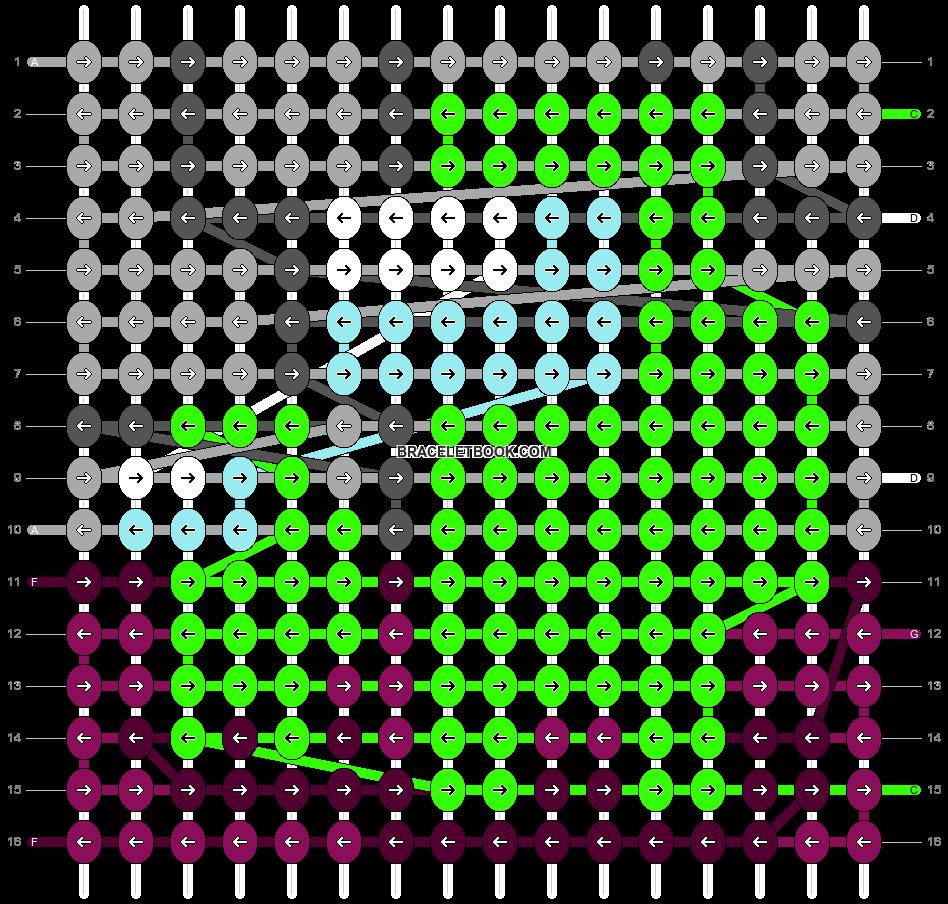 Alpha pattern #61965 pattern