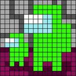 Alpha pattern #61965
