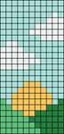 Alpha pattern #61993