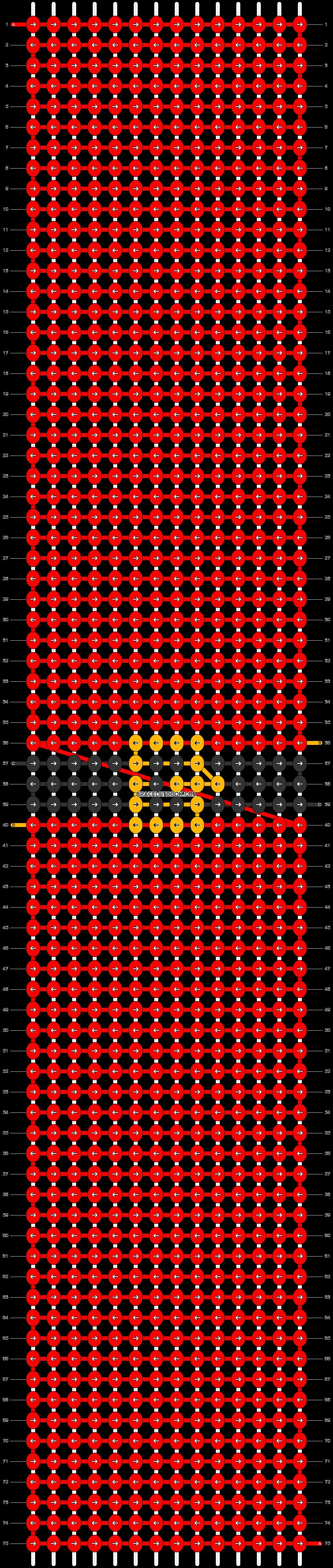 Alpha pattern #62013 pattern