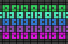 Alpha pattern #62062