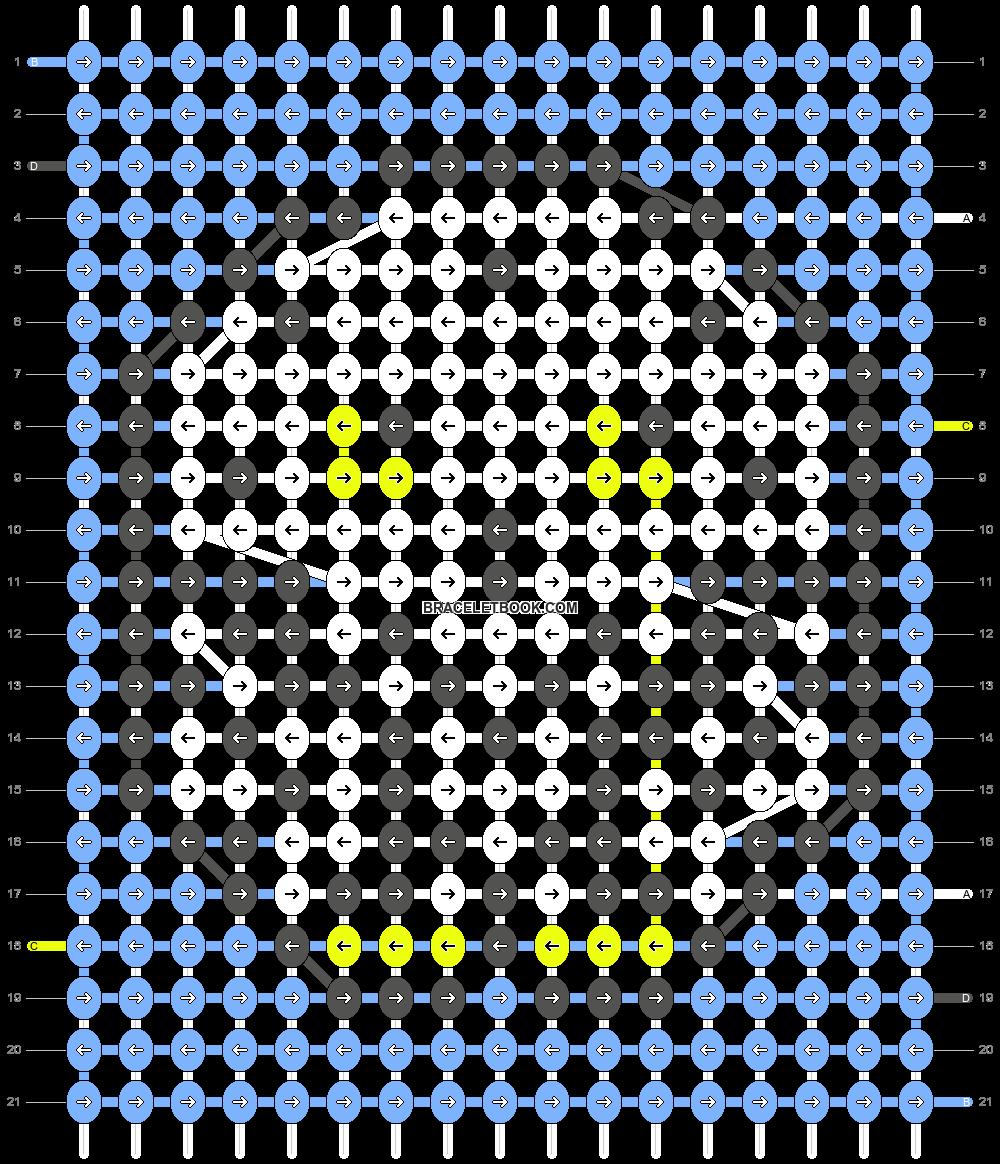 Alpha pattern #62066 pattern