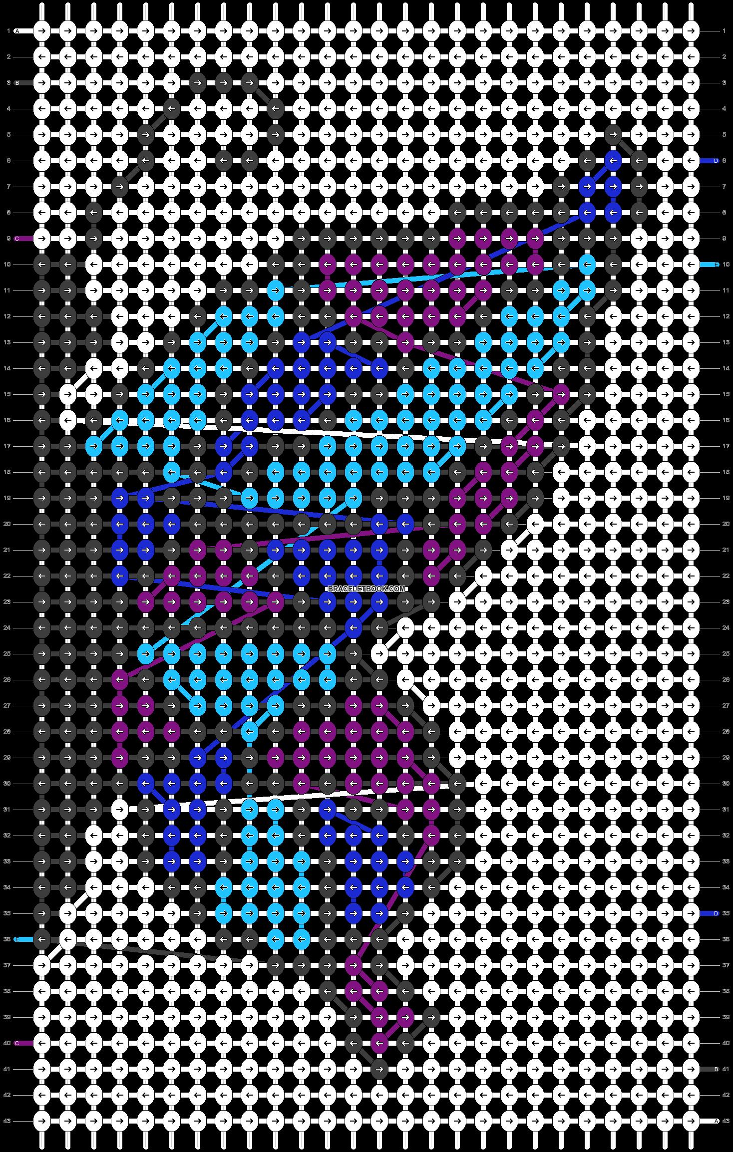 Alpha pattern #62071 pattern