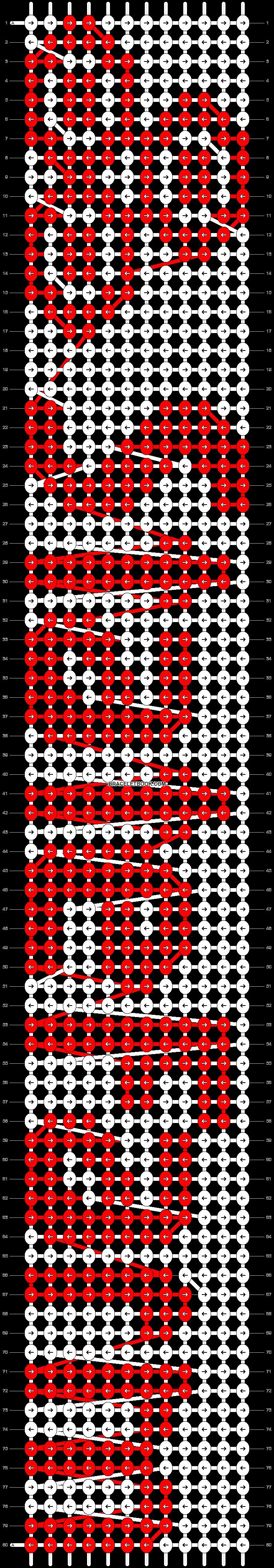 Alpha pattern #62074 pattern