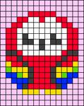 Alpha pattern #62080