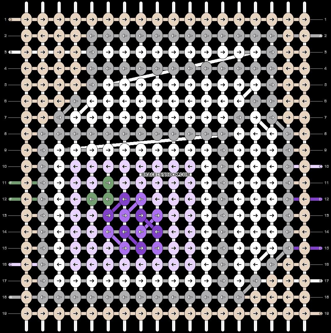 Alpha pattern #62118 pattern