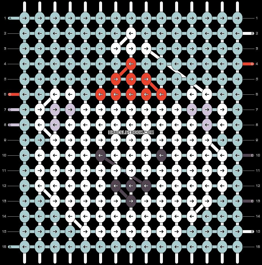 Alpha pattern #62119 pattern
