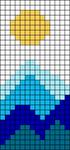 Alpha pattern #62138