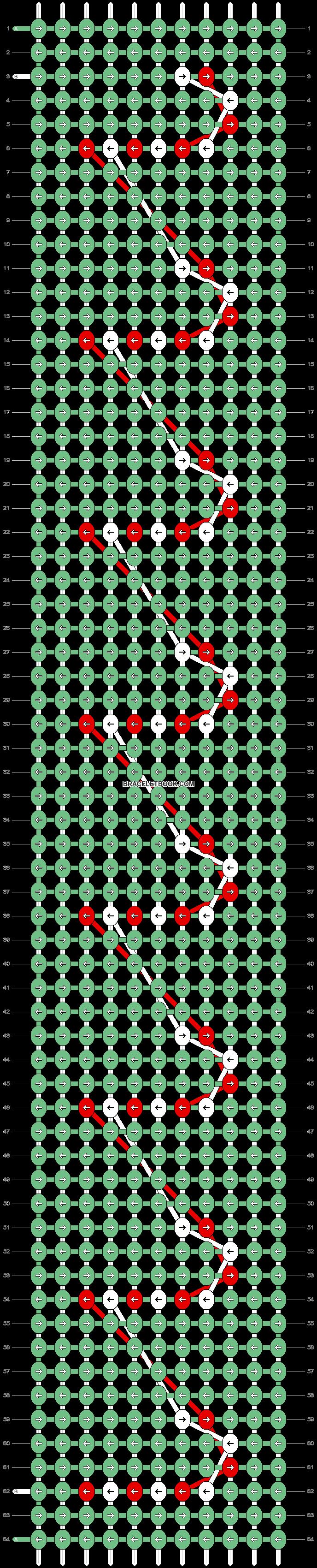 Alpha pattern #62161 pattern
