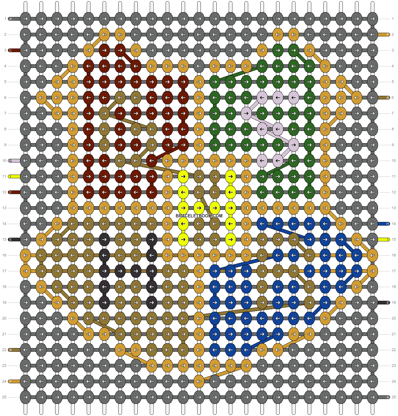 Alpha pattern #62162 pattern