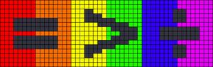 Alpha pattern #62174