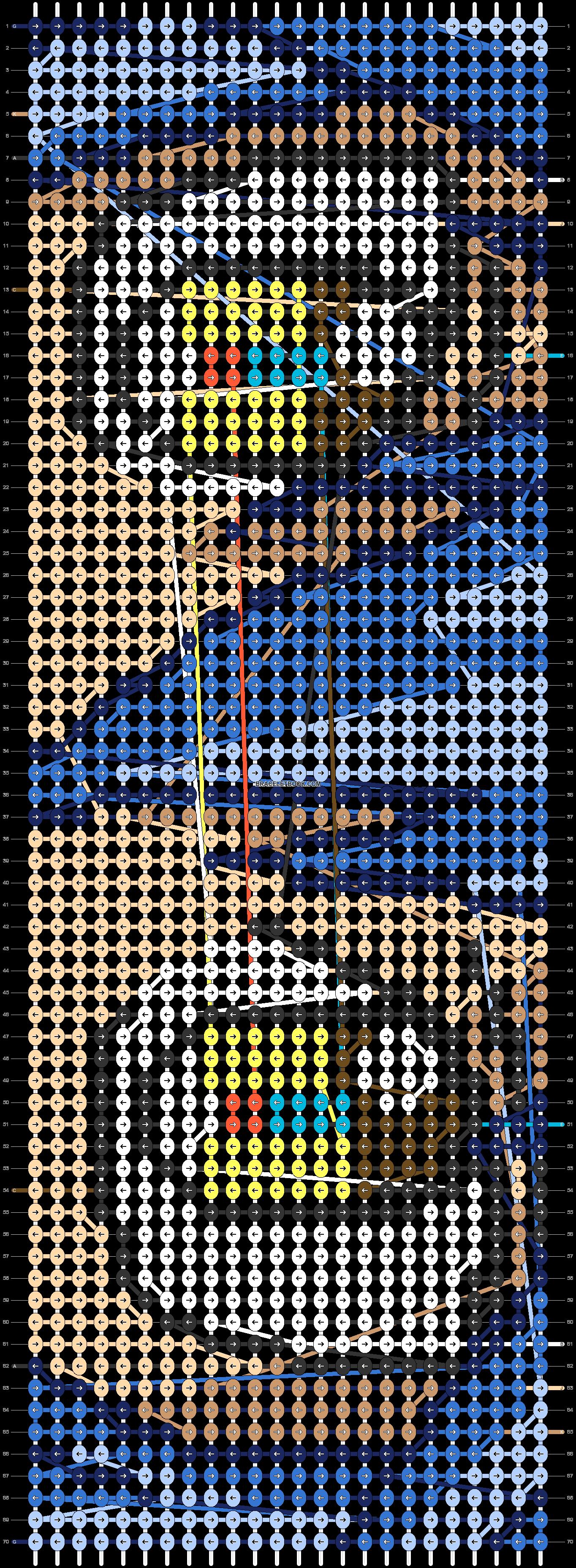 Alpha pattern #62175 pattern