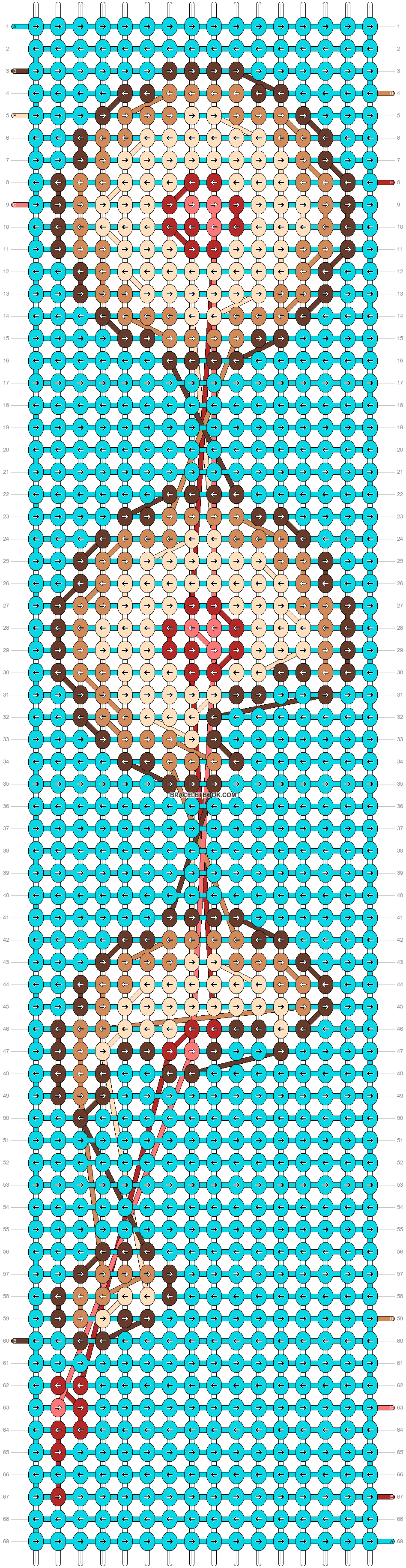 Alpha pattern #62224 pattern