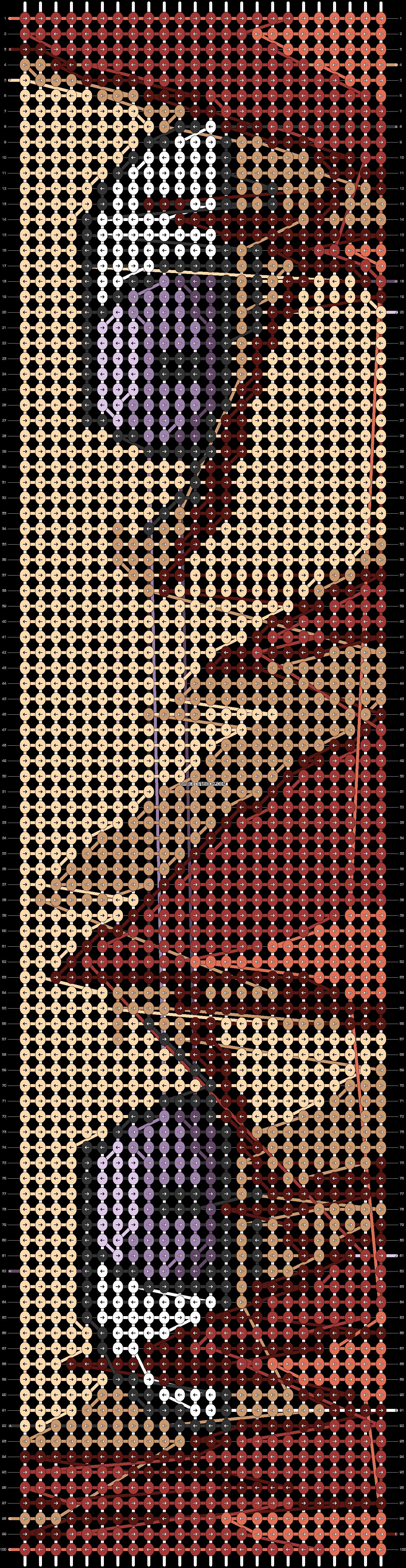 Alpha pattern #62286 pattern