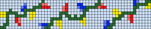 Alpha pattern #62310