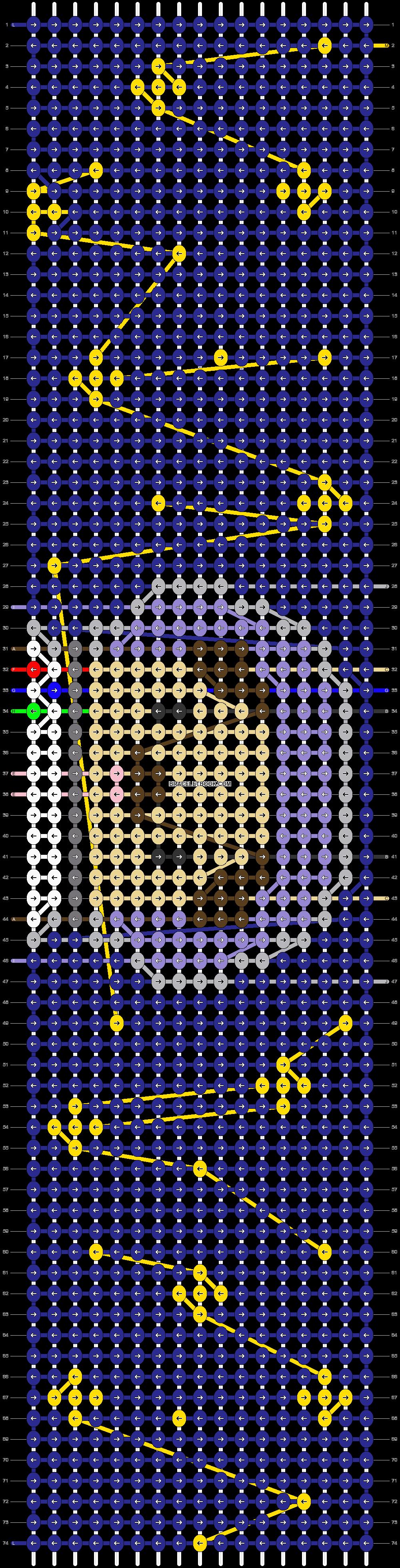 Alpha pattern #62329 pattern