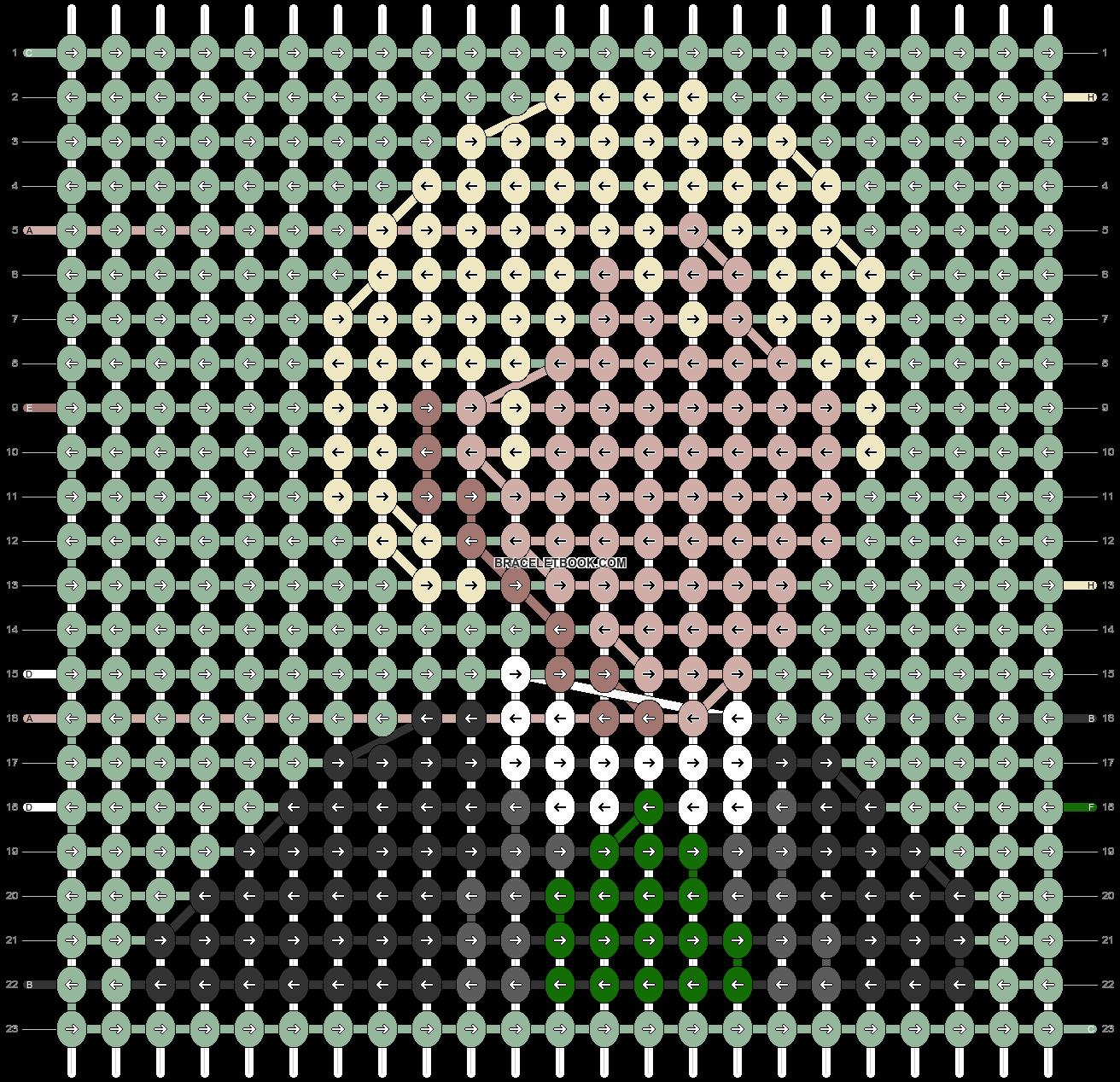 Alpha pattern #62336 pattern