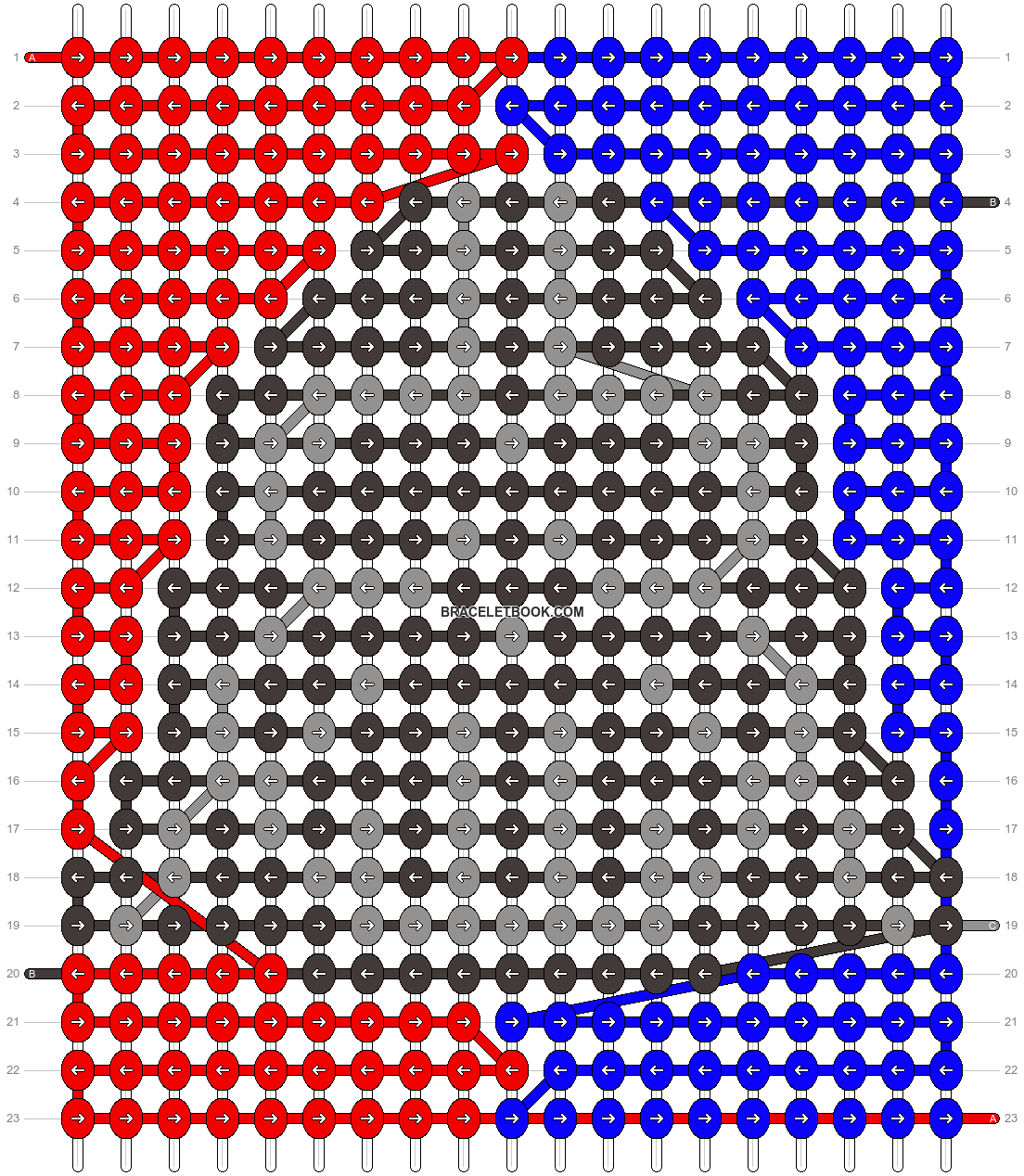 Alpha pattern #62340 pattern