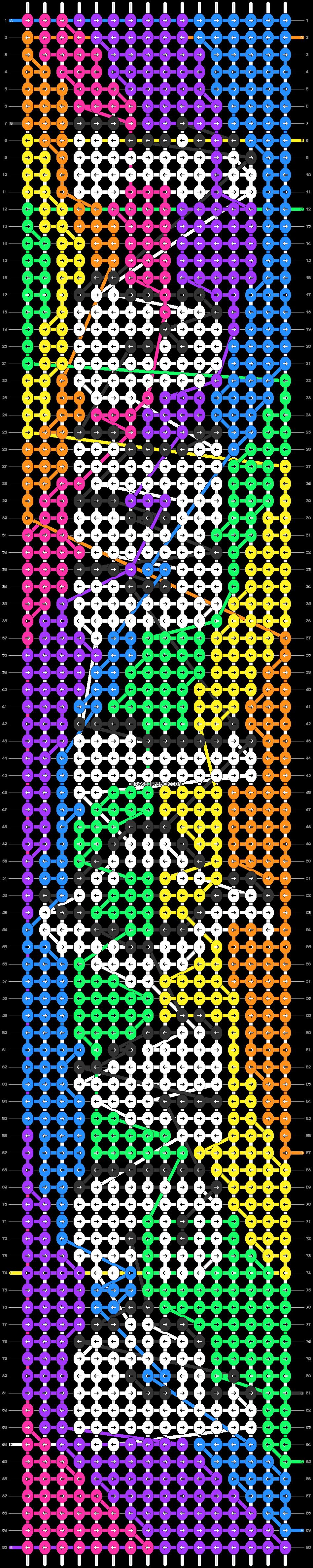 Alpha pattern #62350 pattern