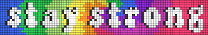 Alpha pattern #62375