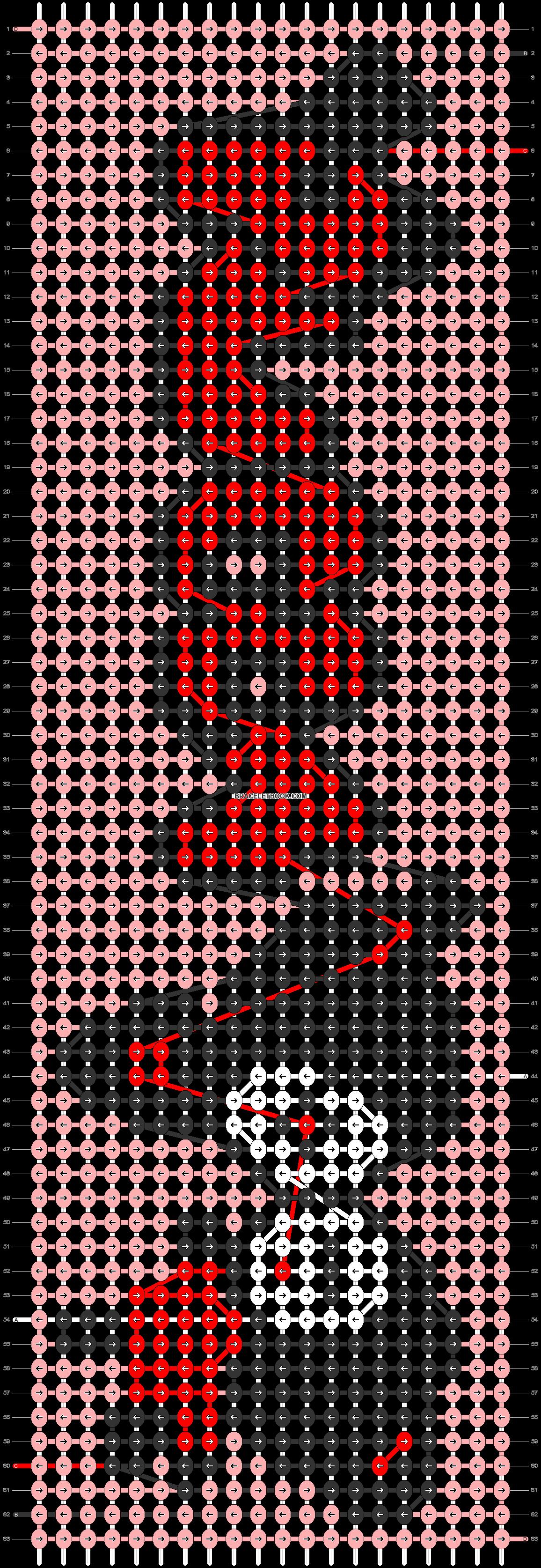 Alpha pattern #62407 pattern