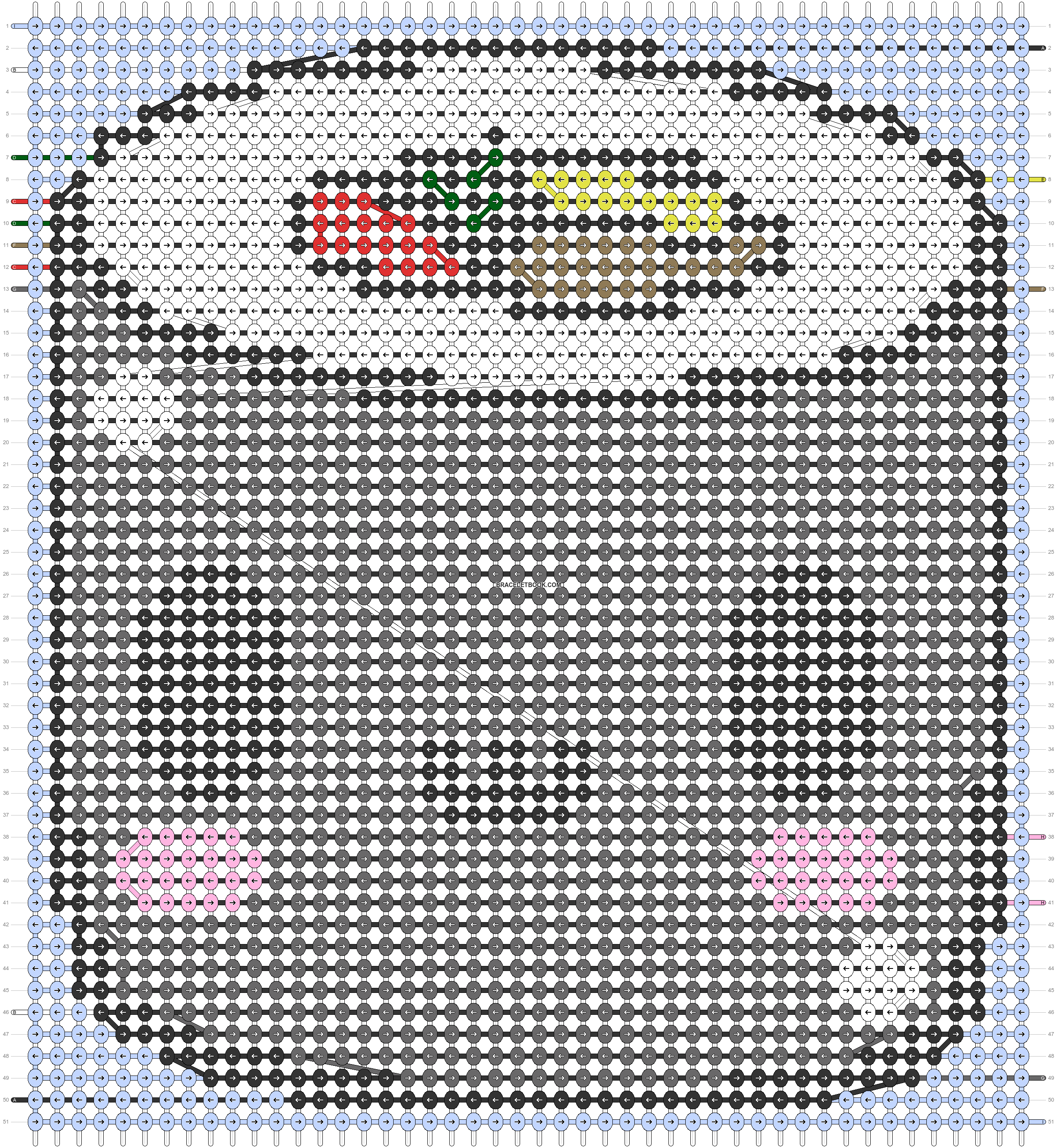 Alpha pattern #62412 pattern