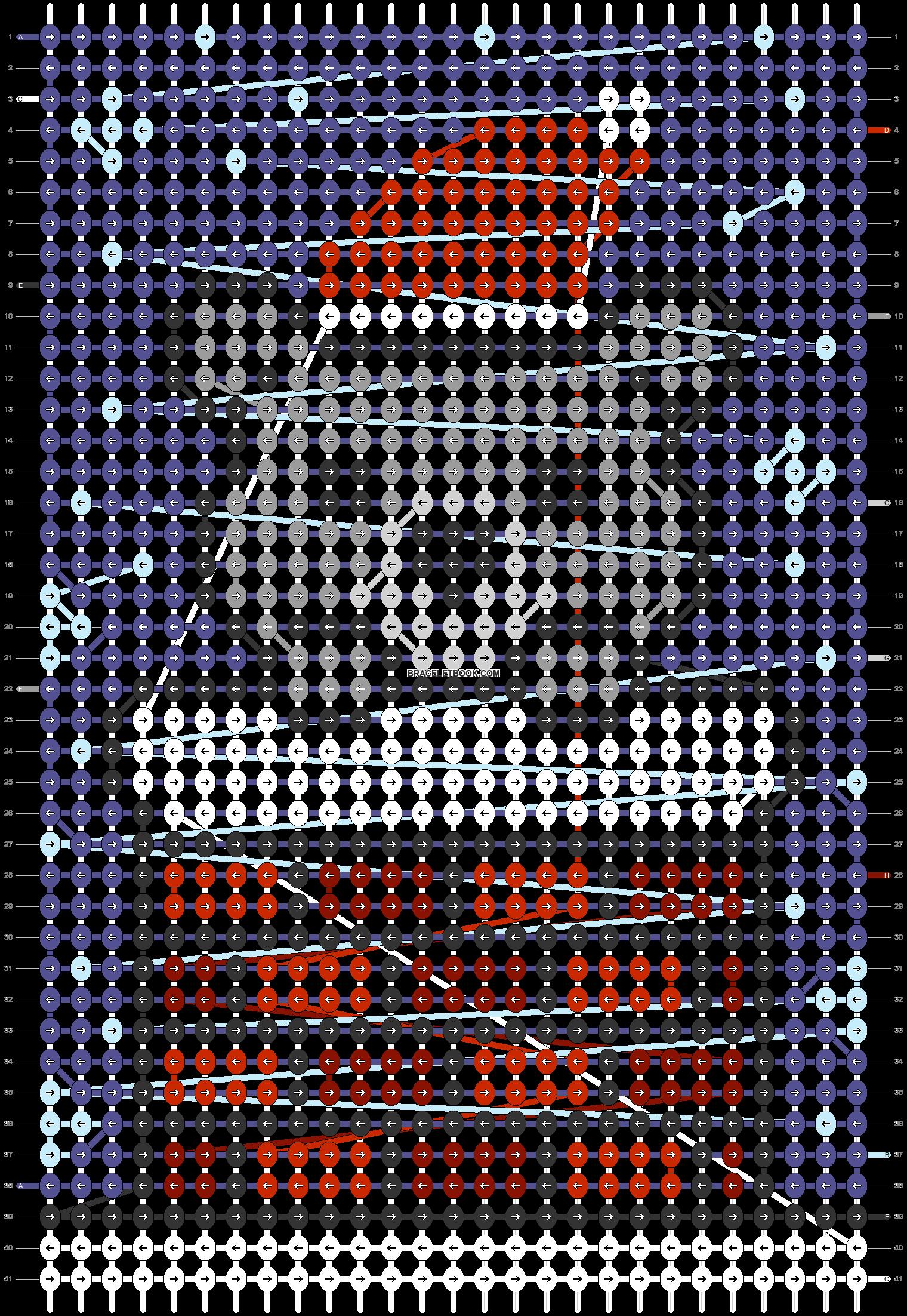Alpha pattern #62415 pattern