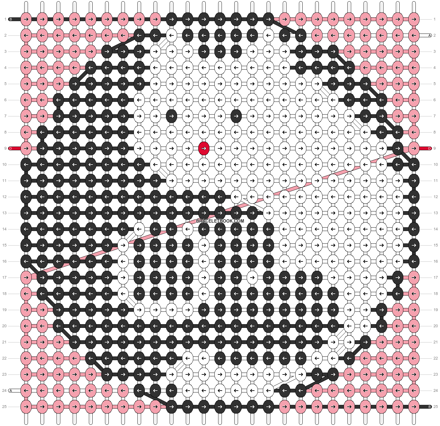 Alpha pattern #62430 pattern