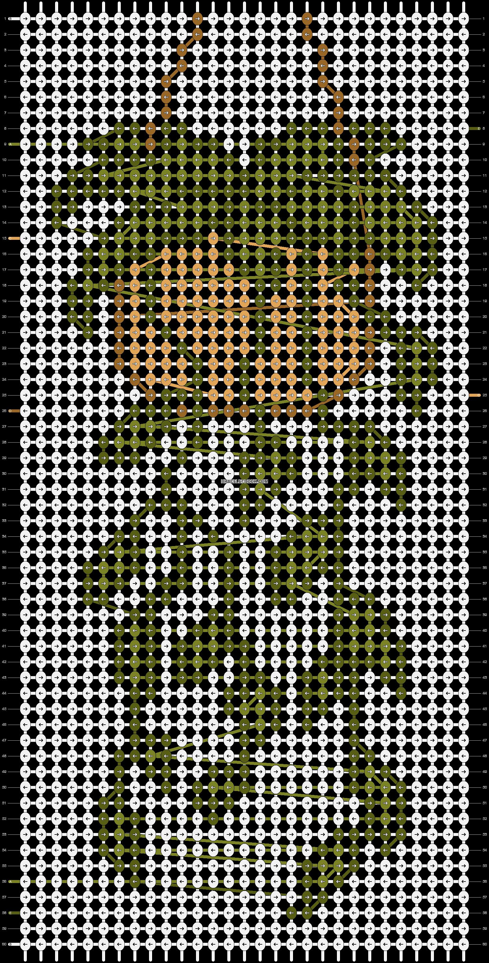 Alpha pattern #62434 pattern