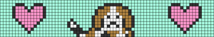 Alpha pattern #62455