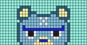 Alpha pattern #62460