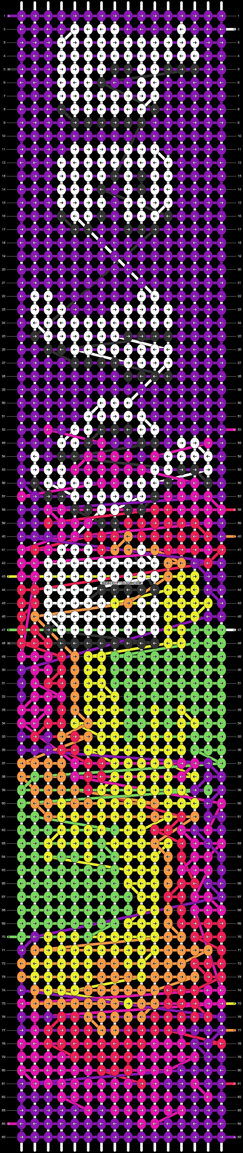 Alpha pattern #62464 pattern