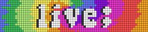Alpha pattern #62468