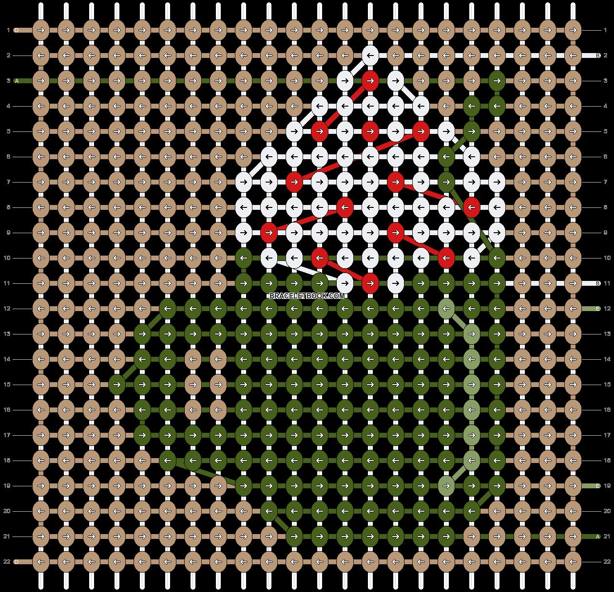 Alpha pattern #62479 pattern