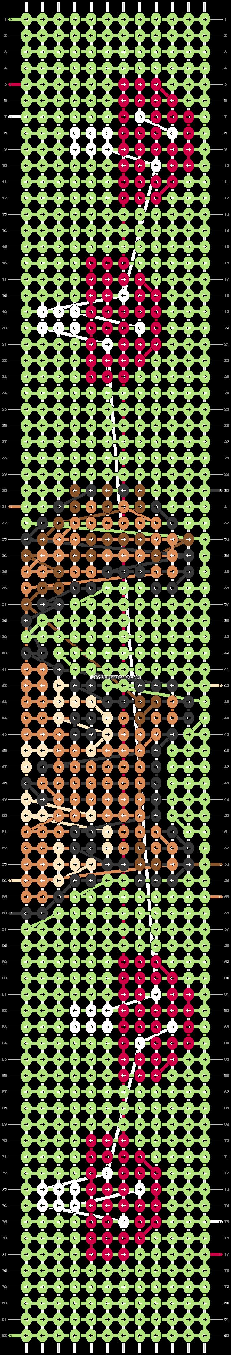 Alpha pattern #62480 pattern