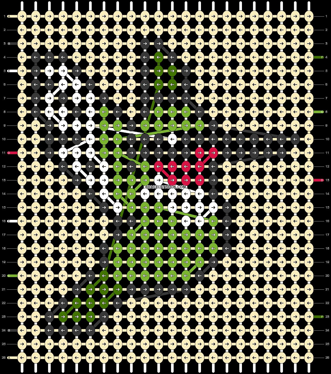 Alpha pattern #62482 pattern